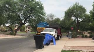 Brand new Amrep garbage truck!
