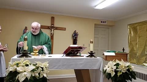 Mass on January 14, 2021