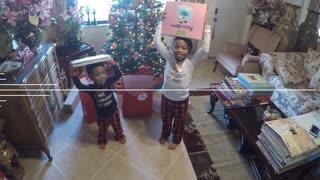 Blasian Babies Family Christmas With GrandMaMa