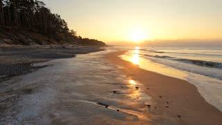 Amazing Beach Sunset View