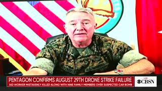 "Gen. McKenzie on the drone strike that killed 10 civilians: ""It was a mistake..."""
