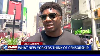 What New Yorkers think of censorship
