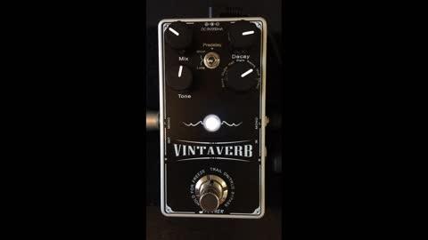 Pedal Review - Donner Vintaverb Reverb