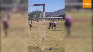 viral video: the tremendous kick of amateur football