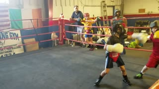 Heavy sparring Day