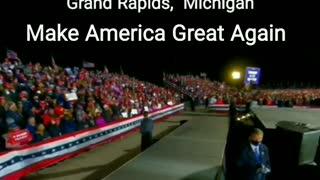 Grand Rapids, Michigan - President Trump MAGA Peaceful Protest Rally 11-02-2020