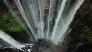 Waterfall drone view | see it