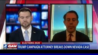 Trump campaign attorney breaks down Nev. case