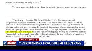 Overturning Fraudulent Elections