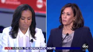 ABC debate moderator destroys Kamala Harris
