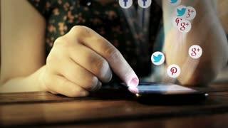 Social media video viral