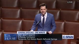 "Gaetz Drops NUKE On Congress and Their ""Forever War Lobby"""