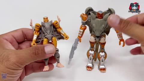 Transformers Kingdom Core Maximal Rattrap Review WFC-K2 (Retail Release), Larkin's Lair