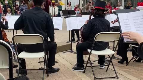 Sinfonia Christmas Music performance Destin Florida