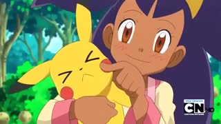 """Pokemon Best Wishes: """"You can't find anything this jiggly in Unova!"""""""