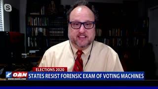 States resist forensic exam of voting machines