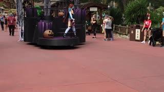 Disney Covid Halloween parade