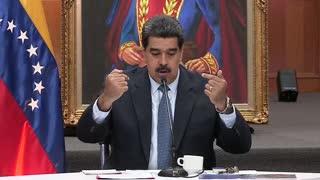 """VIDEO: Nicolás Maduro dice que la prohibición de entrar a Perú es una """"estupidez"""""""
