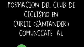 Niños en Curití sueñan con tener un club de ciclismo