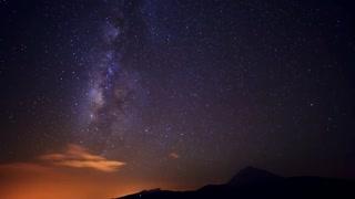 Night sky time lapse Free stock footage