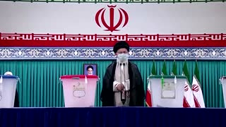 Khamenei votes in Iran election