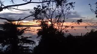 Beautiful sunrise Morning