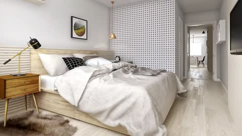 Best Idea for A Small Apartment – Visually Increase Space Using Light Tones And Contrasts
