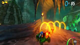 Crash Team Racing Nitro Fueled - Mystery Caves Ring Rally Gameplay