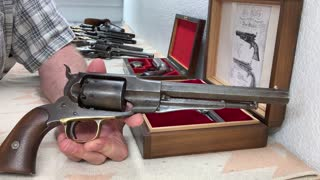 Civil War era revolvers