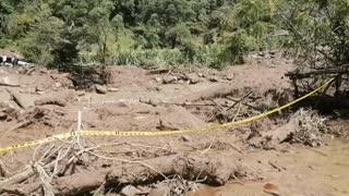 Mil personas incomunicadas tras fuertes lluvias en Santander