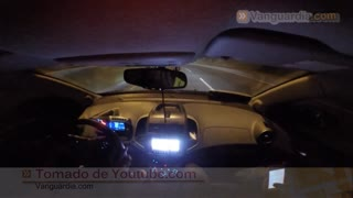 Video registró 'piques' ilegales de carros en Bucaramanga