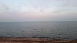 Sunset at Shoebury East Beach United Kingdom