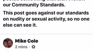 Facebook ban for BS