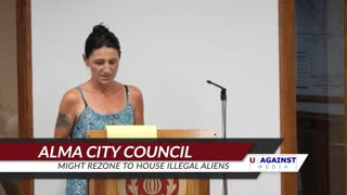 Alma City Council Meeting To Rezone Housing for Illegal Aliens
