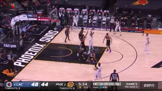 Los Angeles Clippers vs. Phoenix Suns Full Game 5 Highlights | NBA West Finals 2021
