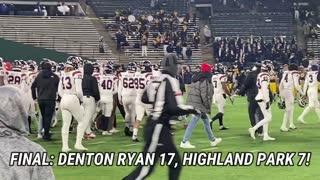 2020 Denton Ryan vs Highland Park 5A D1 Region 1 Final Highlights