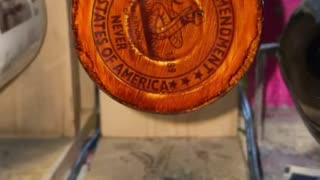 M&T Designs woodgrain 2nd amendment