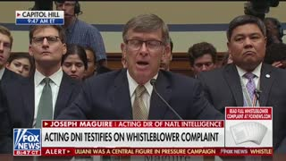 Adam Schiff questions acting DNI in whistleblower hearing Part 1
