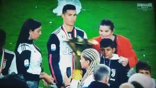 Cristiano Ronaldo, o pai do ano
