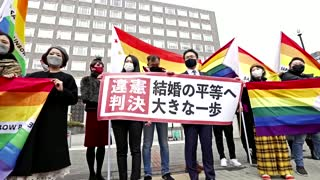 Japan: 'unconstitutional' to bar same-sex marriage