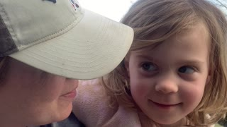 Daughter Toots on Teacher