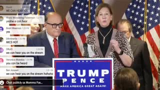 💥BUSTED🚨I CAUGHT Trumps lawyers Press Con. Getting HACKED!