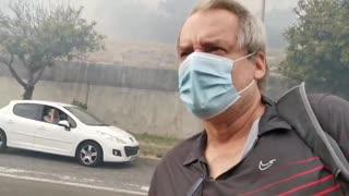 Vredehoek residents on evacuation