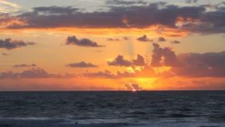 Sunrise in Cocoa Beach