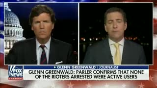 Liberal Commentator Tells Tucker There's ZERO Evidence Parler Was Used to Plan Capitol Siege
