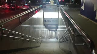 Dongui University subway station in Korea