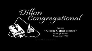 Sermon Classics - A Hope Called Blessed, by Hugh Smith, 1987