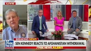 John Kennedy on Afghanistan Withdrawal