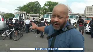 """Justice for J6"""" rally in D.C. concludes amid heavy police presence"""