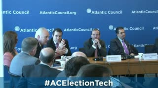 Smartmatic's Chairman, Lord Malloch-Brown at the Atlantic Council HQ